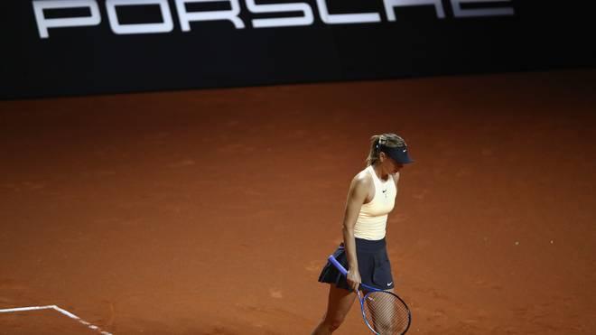 Maria Scharapowa kann dieses Jahr nicht in Stuttgart spielen