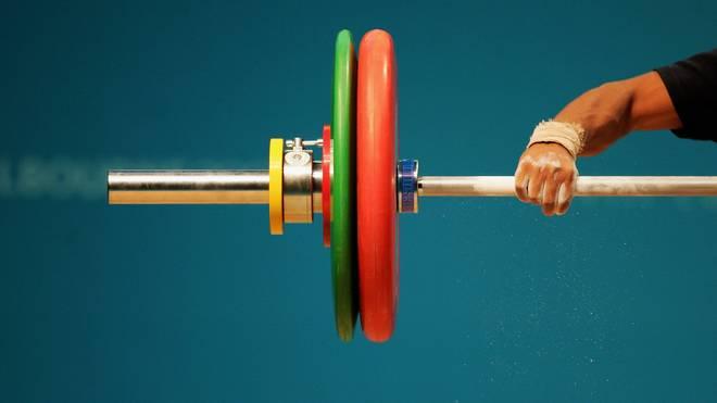 Symbolbild Gewichtheben