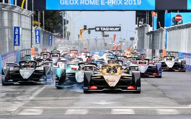In der Formel E wird seit 2014 um Punkte gefahren