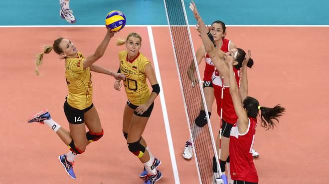 Das deutsche Team um Kapitänin Margareta Kozuch unterlag im EM-Viertelfinale der Türkei
