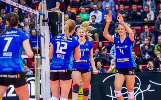 Die Damen aus Stuttgart wollen den Titel perfekt machen