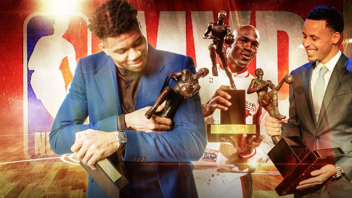 NBA MVP: Die Besten seit 1990 mit Jordan, Nowitzki, Curry und Antetokounmpo