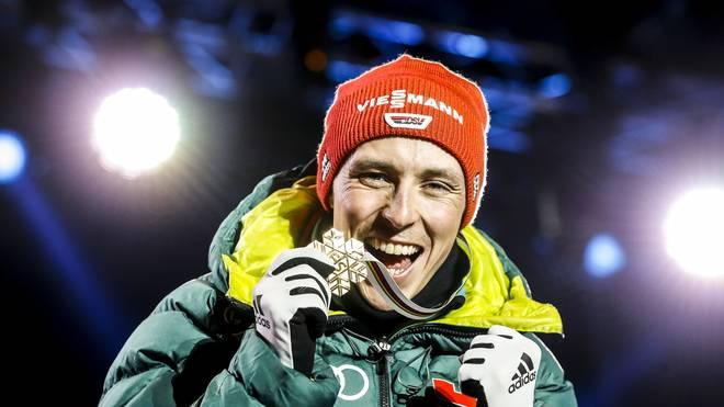 Eric Frenzel gewann bei der WM zwei Goldmedaillen