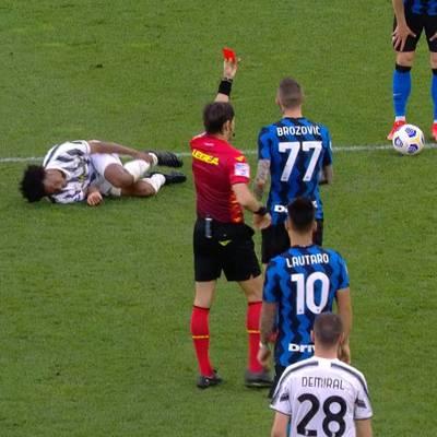Platzverweise, Witz-Elfer, Eigentor! Juve holt Last-Minute-Sieg gegen Inter