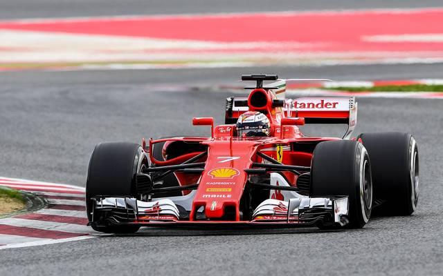 Ferrari, Kimi Raikkönen,Tests, Barcelona, Formel 1 2017