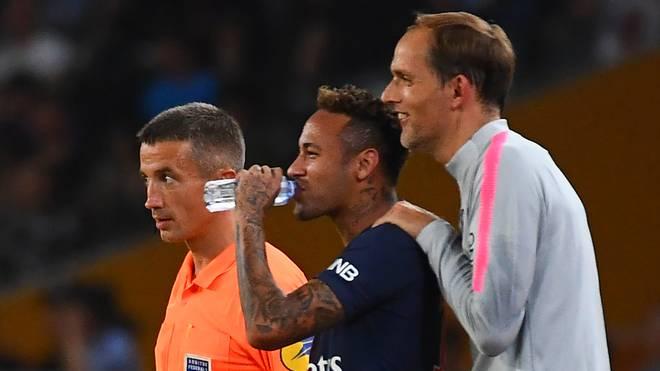 Thomas Tuchel hofft bereits Anfang März wieder auf Neymar zurückgreifen zu können