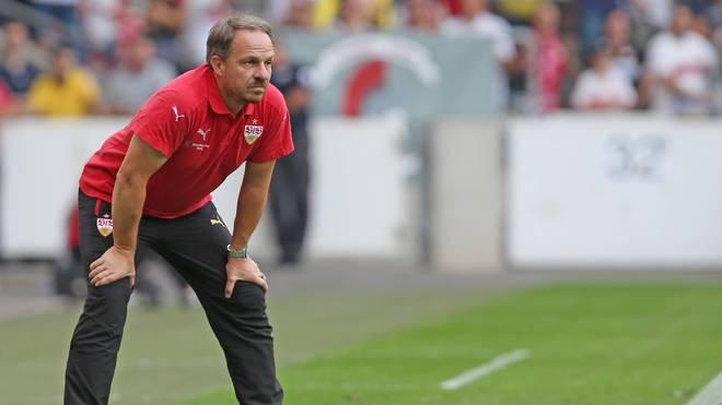 Der VfB Stuttgart ist für Alexander Zorniger erste Trainerstation in der Bundesliga