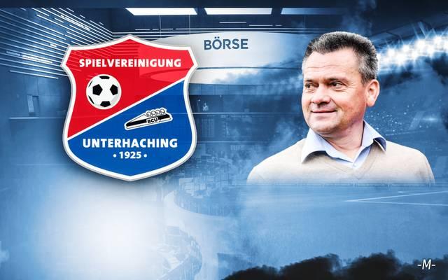 Unterhachings Präsident Manfred Schwabl führt seinen Verein an die Börse