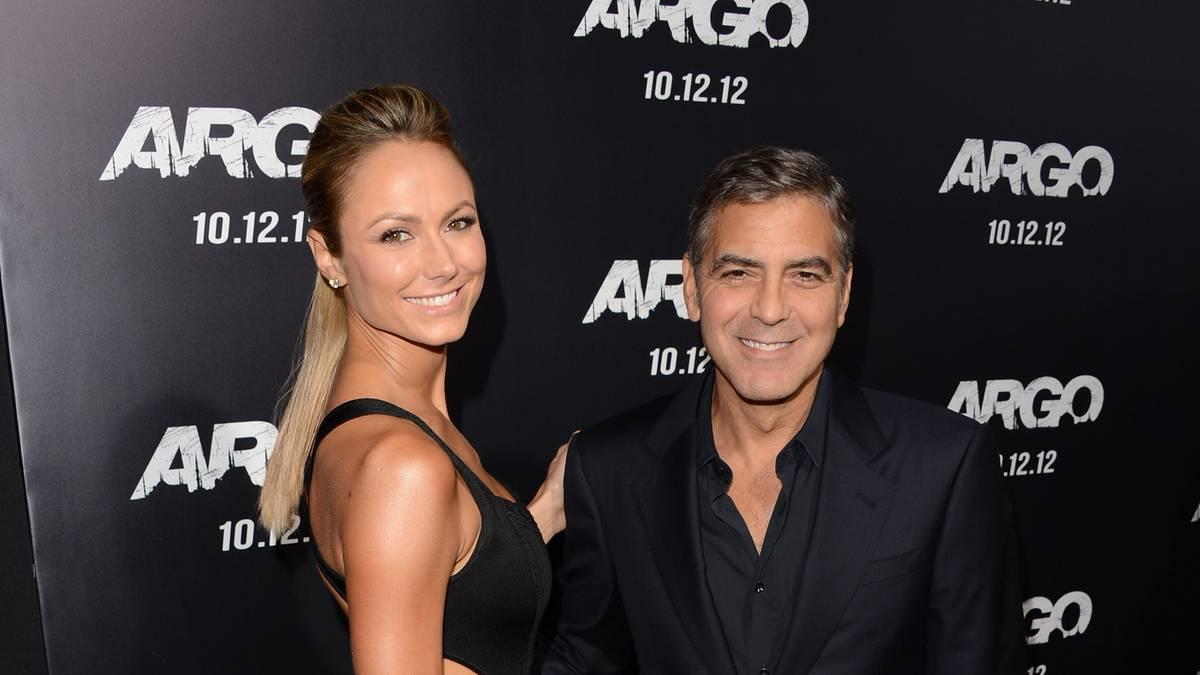 Stacy Keibler war zwischen 2011 und 2013 die Freundin von George Clooney