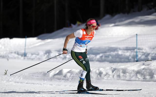 Laura Gimmler landete als beste Deutsche auf Platz 23
