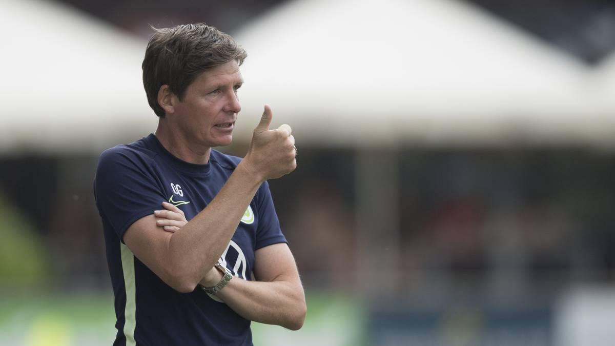 Wolfsburg-Trainer Oliver Glasner war mit der Leistung seines Teams sehr zufrieden