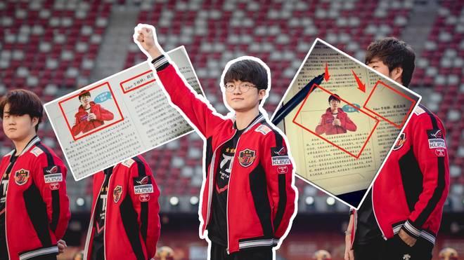 Faker taucht nun auch in chinesischen Schulbüchern auf