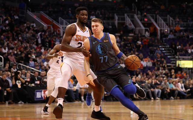 NBA: Dallas Mavericks schlagen Phoenix Suns - Luka Doncic glänzt