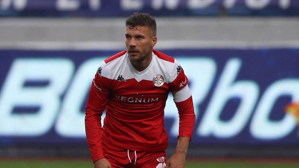 Podolski kassiert mit Antalyaspor Pleite im Pokalfinale