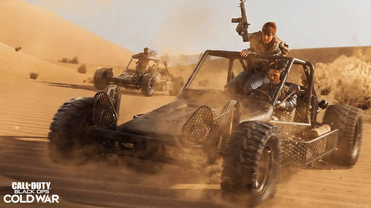 Black Ops Cold War Season 4 - Ab in die Wüste?
