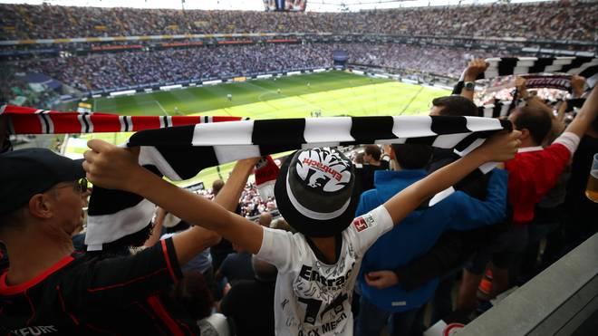 Die Fans von Eintracht Frankfurt dürfen sich am Spieltag nicht in Marseille aufhalten