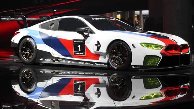 BMW M8 GTE: Auf IAA 2017 präsentiert, 2018 in WEC und IMSA im Einsatz