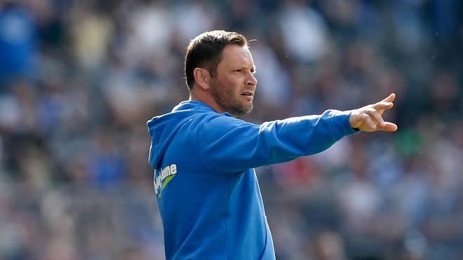 Pal Dardai will mit Hertha BSC die direkten Europa-League-Plätze erreichen