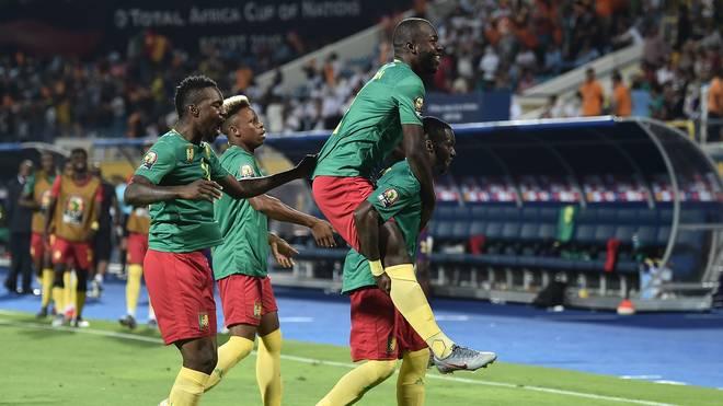 Das Team aus Kamerun durfte sich beim Afrika Cup über einen Auftaktsieg freuen