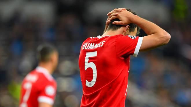 Mats Hummels vom FC Bayern München hat sich gegen den VfB Stuttgart verletzt