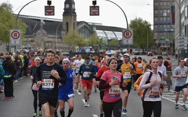 Hamburg-Marathon (Symbolbild)