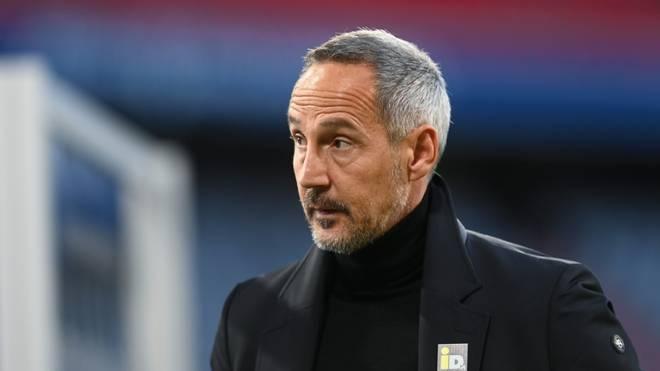 Adi Hütter schaut Richtung Europacupplätze