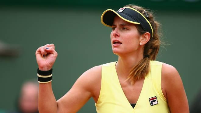 Julia Görges steht im Viertelfinale von Auckland
