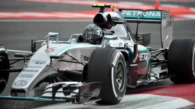 Nico Rosberg will in Mexiko Sebastian Vettel vom zweiten Platz in der Gesamtwertung verdrängen
