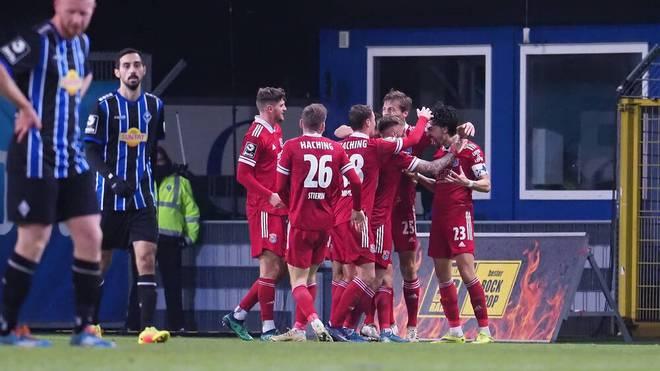 Waldhof Mannheim kassierte gegen Unterhaching die dritte Niederlage in Serie