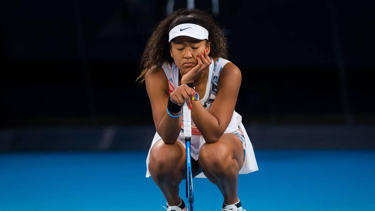 Naomi Osaka muss sich Kritik anhören