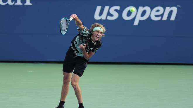 Alexander Zverev trifft bei den US Open in der 2. Runde auf einen US-Amerikaner