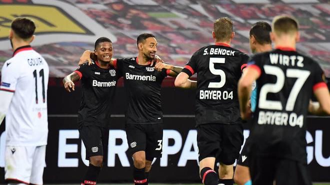 Joker Karim Bellarabi steuerte zwei Tore zum Leverkusener Sieg bei