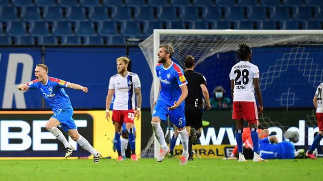 Der HSV verspielte den Sieg in der Nachspielzeit
