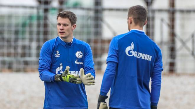 Bei Schalke ist Nübel in den ersten Spielen der Hinrunde gesperrt