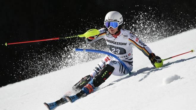 Patrizia Dorsch will beim Damen-Slalom im österreichischen Flachau überzeugen