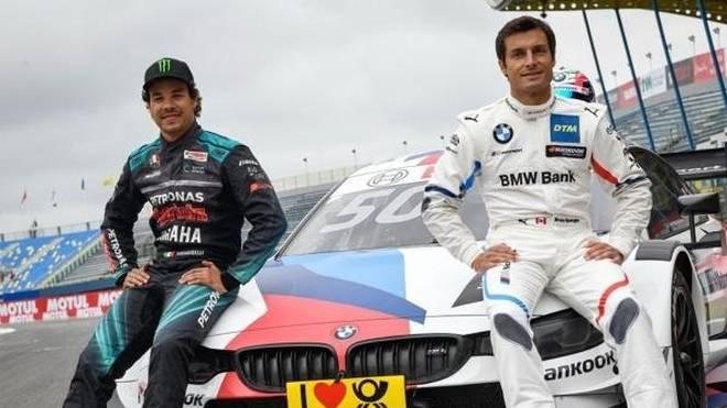 Bruno Spengler und Franco Morbidelli haben sich im BMW abgewechselt