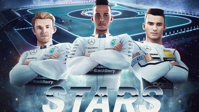 Mit Lewis Hamilton und Nico Rosberg ist das Erfolgsduo der Formel 1 in Stuttgart am Start