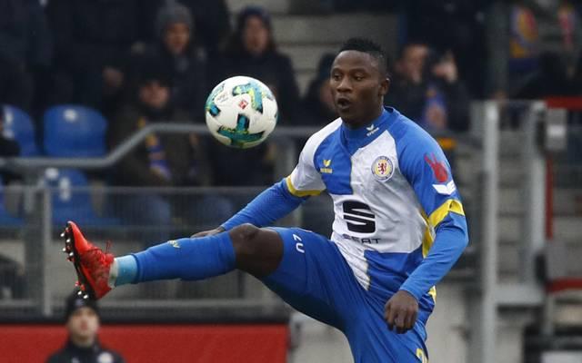 Suleiman Abdullahi geht für Eintracht Braunschweig auf Torejagd