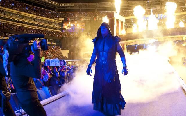 Der Undertaker gewann 22 seiner 23 Matches bei WrestleMania WWE