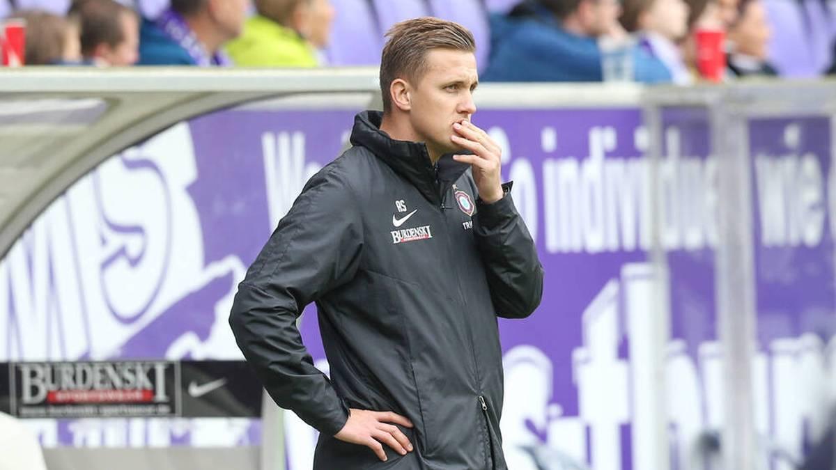 Erzgebirge Aue trennt sich von Trainer Aleksey Shpilevski