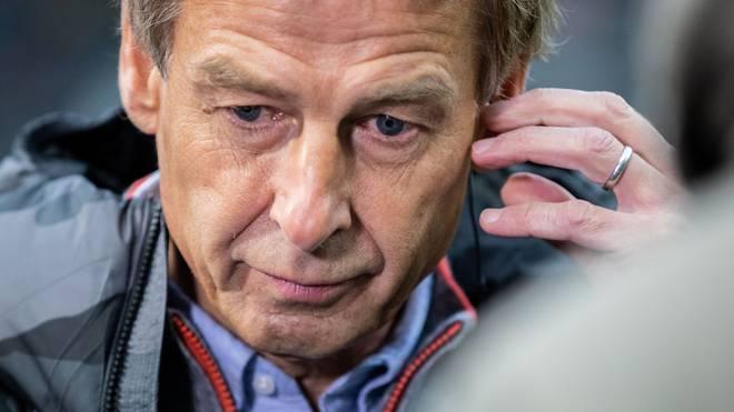 Jürgen Klinsmann feierte gegen den BVB sein Debüt als Trainer von Hertha BSC