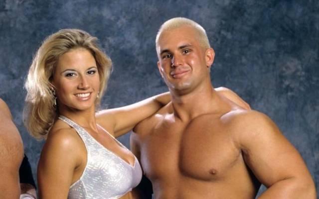 Chris Candido (r.) bildete mit Freundin Sunny die Body Donnas bei WWE