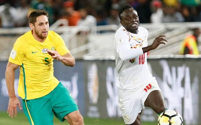 Das senegalesische Team um Liverpool-Star Sadio Mane (r.) ist nach 2002 zum zweiten Mal bei einer Weltmeisterschaft dabei