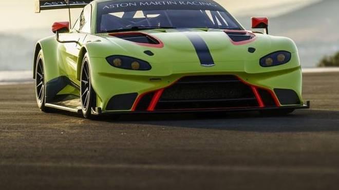 Der neue Aston Martin Vantage GTE wurde ausgiebig bei Testfahrten erprobt