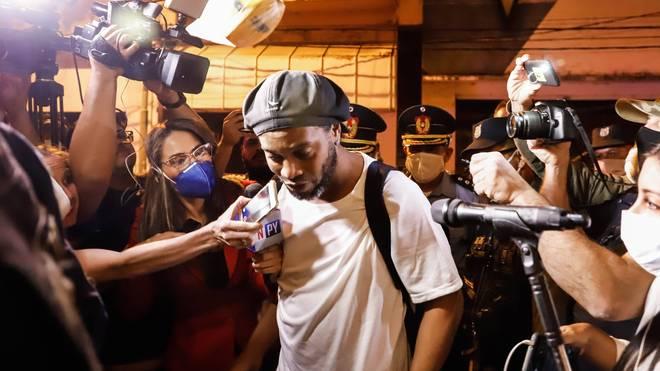 Ronaldinho ist in Paraguay seit fünf Monaten in Haft