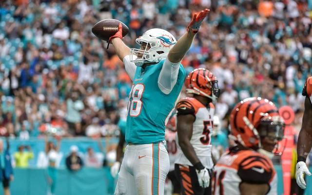 Die Partie zwischen den Miami Dolphins und den Cincinnati Bengals brachte den Glückspilz beinahe um seinen Mega-Gewinn