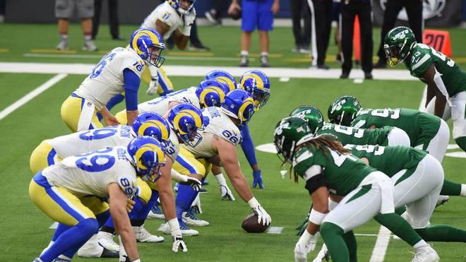 NFL: Die Positionen im American Football. Die O-Line steht der D-Line gegenüber.
