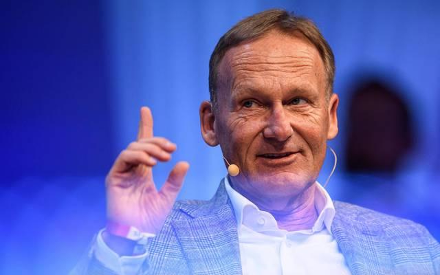 Hans-Joachim Watzke sprach beim SPOBIS ausführlich - nicht nur über den BVB