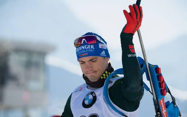 Die anstehenden Biathlo-EM findet ohne den Ex-Weltmeister Simon Schempp statt