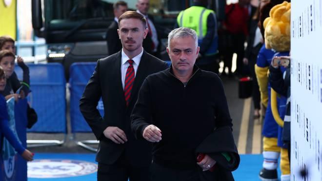 Jose Mourinho hatte am Dienstag einen ungewöhnlichen Spaziergang